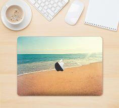 "The Vintage Beach Scene Skin Kit for the 12"" Apple MacBook from DesignSkinz"