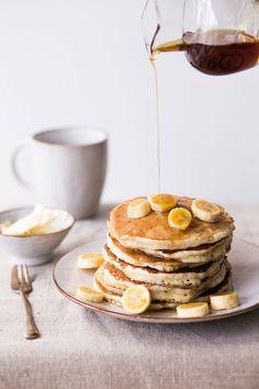 banana pancakes..