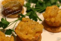 Game Day Appetizer: Baked Mac & Cheese Bites #BowlTimeSnacks #ad