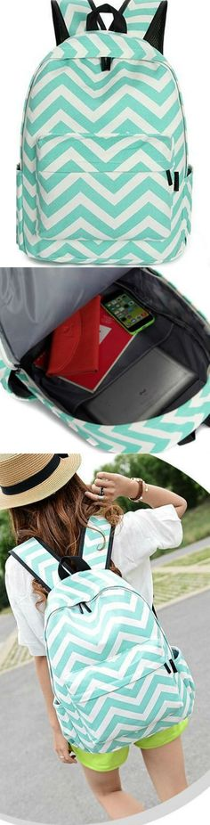 Striped Backpack! Click The Image To Buy It Now or Tag Someone You Want To Buy This For. #Backpack