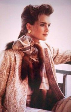 Image result for rare pics of brooke shields