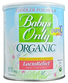 Baby's Only LactoRelief Toddler Formula – Powder – 12.7 oz – 6 pk  http://www.babystoreshop.com/babys-only-lactorelief-toddler-formula-powder-12-7-oz-6-pk-3/