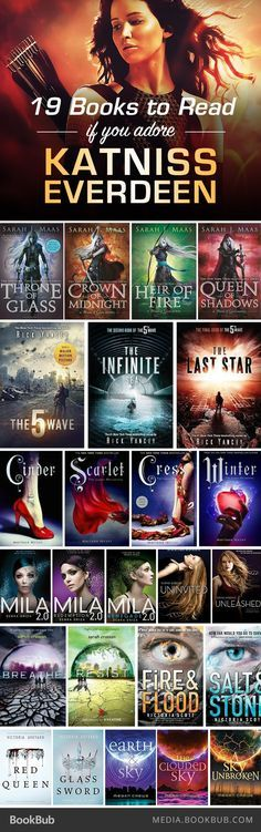 Books to Read If You Love 'The Hunger Games' 19 books to read for Hunger Games fans! I haven't read Hunger Games, but I'm reading Cinder right books to read for Hunger Games fans! I haven't read Hunger Games, but I'm reading Cinder right now! Ya Books, I Love Books, Good Books, Reading Books, Reading Lists, Book Suggestions, Book Recommendations, Tribute Von Panem, The Hunger Games
