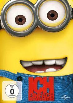 """An den gelben Helferchen kann man sich gar nicht satt sehen! Lustiger Filmspaß mit """"ICH einfach unverbesserlich"""" #minions #dvd #weltbild"""