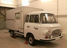 ddr barkas | prisoner transportation car in former GDR