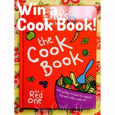 Ella's Kitchen Cook Book Review and Giveaway! (The Red One)