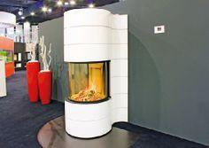 Homeplaza - Moderne Brennzelle bietet designstarken Rundum-Blick auf die Flammen - Eine magische Inszenierung von Feuer
