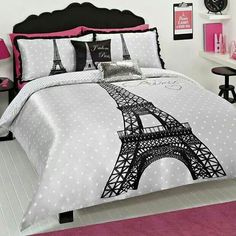 Pink and Black Paris