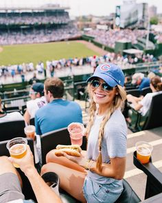 "7,044 Likes, 75 Comments - Olivia Rink (@oliviarink) on Instagram: ""GO CUBS GO ⚾️ I'm partnering with @wrigleyrooftops to give you 20% off any online Wrigley Rooftops…"""