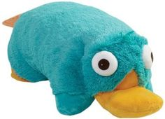 Amazon.com: My Pillow Pets Authentic Disney Perry Folding Plush Pillow, 18-Inch, Large: Bedding & Bath