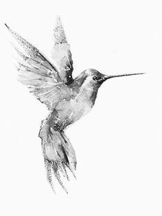 Hummingbird Tattoo Watercolor, Watercolor Bird, Hummingbird Tattoo Black, Raven Tattoo, Arm Tattoo, Samoan Tattoo, Polynesian Tattoos, Tattoo Ink, Tiny Bird Tattoos