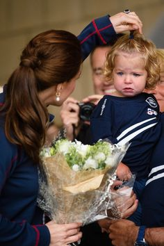 Duchess Of Cambridge Attend The America's Cup World Series - July 26, 2015