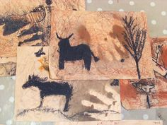 the Wall Cave Painting Art Activity For Kids stone age art projectstone age art project Art Activities For Kids, Art For Kids, Stone Age Boy, Stone Age Cave Paintings, Arte Elemental, 7 Arts, We Will Rock You, Iron Age, Art Club
