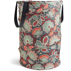 Vera Bradley Pop-Up Laundry Bag in Nomadic Floral ($48) ❤ liked on Polyvore featuring home, home improvement, storage & organization and nomadic floral