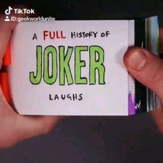 A full history of Joker laughs :))) Comic Del Joker, Le Joker Batman, Harley Quinn Et Le Joker, Der Joker, Joker Art, Gotham Joker, Joker Pics, Superman, Joaquin Phoenix