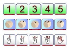 Constellations, doigts et nombres format A4