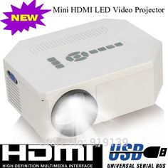 58.90$  Watch here - http://aliuw6.worldwells.pw/go.php?t=1310865897 - Portable LED Mini Projector With HDMI USB VGA Proyector SD Cheap Projetor For Game Home Electronics Work With Wii PS2 Xbox