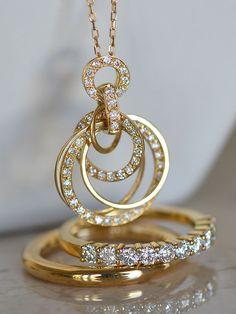 diamondpendant & ring