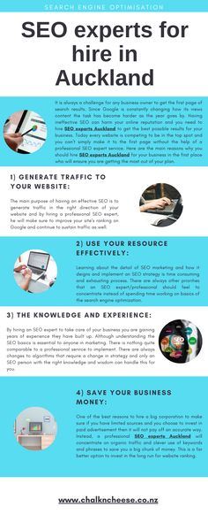 Do you want to hire SEO experts Auckland for your business growth? Then you have to get it from Chalkncheese which is the SEO service provider. #Seoauckland  #Seocompanyauckland #Seospecialistauckland #Seoagencyauckland #Seoexpertsauckland #Seoservicesauckland #Seocompanynewzealand Seo Basics, Seo Specialist, Website Ranking, Seo Agency, Knowledge And Wisdom, Seo Strategy, Business Money, Professional Services, Seo Company
