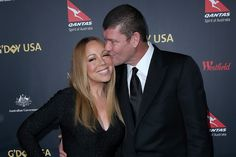 Mariah Carey's 35-Carat Diamond Engagement Ring Makes Red Carpet Debut with James Packer