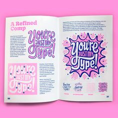 An Introduction to Expressive Lettering on Pantone Canvas Gallery Graphic Design Tips, Book Design Layout, Graphic Design Posters, Graphic Design Illustration, Editorial Layout, Editorial Design, Magazine Design, Design Digital, Drawing Letters