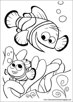Coloring Pages To Print Finding Nemo