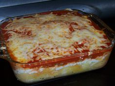 Spaghetti Squash Lasagna Casserole - Low carb recipes suitable for all low carb diets - Sugar-Free Low Carb Recipes