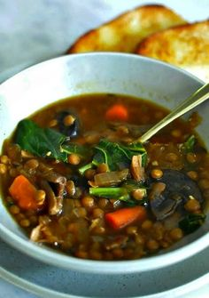 12 Crock-Pot Soups for When You Can't Crawl Out from Under Your Blanket - Country Living