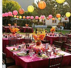 Lanterns decorations