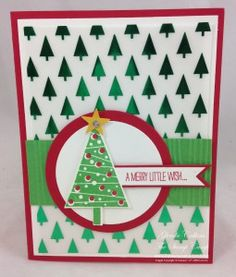 Stampin' Up! Festival of Trees www.thestampcamp.com