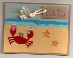 That Snappy Crab by Blueyz115 - Cards and Paper Crafts at Splitcoaststampers