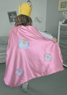 Kids cape Pretend play Dress up cape Fairy cape by CrafterMama