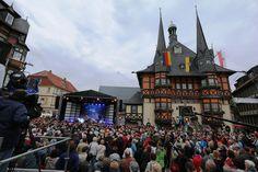 Superstimmung auf dem Rathausfest in Wernigerode!