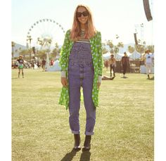 These looks at Coachella are very forced. Were is the fashion in this festival?