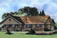 House Plan 427-4  Nice retirement house?!