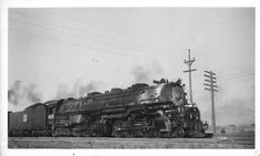 Stephen Phillips-‎Steam Locomotive Photographs 3 hrs on 'Facebook' on 27.12.17: Western Pacific No.405 , class M-100 , 4-6-6-4 , Alco 1938 .......at Salt Lake City Utah .... 1948 ..... R.D.Patton collection...