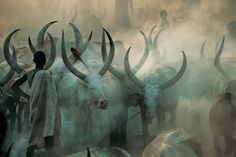 An Amazing Insight Into the Life of The Dinka People of Sudan | artFido's Blog