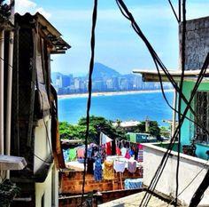 Vista em lugares inusitados - Rio ❤