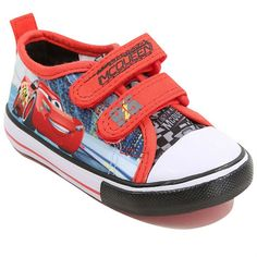 Disney Cars 3 Canvas Trainers