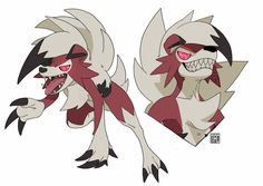 Lycanroc by GhosteKey.deviantart.com on @DeviantArt