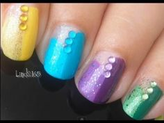 Nail Art - Summer Colors - Decoración de Uñas