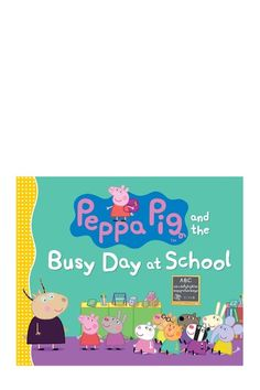 Peppa Pig and the Busy Day at School Peppa Pig Family, Pig Party, Random House, 5 Year Olds, Kids Shows, Love Book, Preston, Children's Books, Puppets