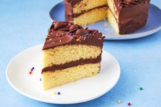 A Yellow Cake That's Better Than Boxed Could Ever BeDelish Round Cake Pans, Round Cakes, Perfect Apple Pie, How To Make Frosting, Unsweetened Cocoa, Vegetarian Chocolate, Stick Of Butter, Delicious Desserts, Cake Recipes