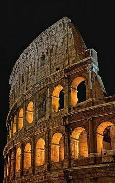 The Colosseum, Rome, Italy.