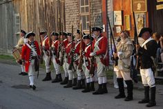 Watch 18th Century Military Drill practices on Shelburne's Historic Waterfront all summer long. Check at the local Visitor Information Centre for days and times.