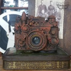 All About Rust Paste - Instant Vintage: Altered Camera Tutorial