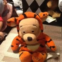 TIGGER POOH POOH WEARING A TIGGER OUTFIT 1999 Please share need help with sales need to buy a house with land to add some foster animals