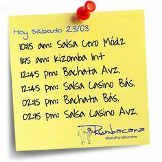 Hoy sábado 23 de marzo en Santa Paula. Rumbacana #BailaParaDivertirte  #SalsaCero #Bachata #Kizomba #SalsaCasino