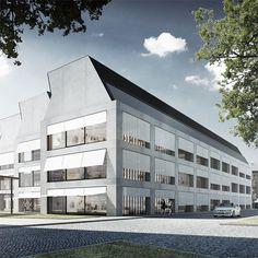 Kampus firmy odzieżowej LPP w Gdańsku