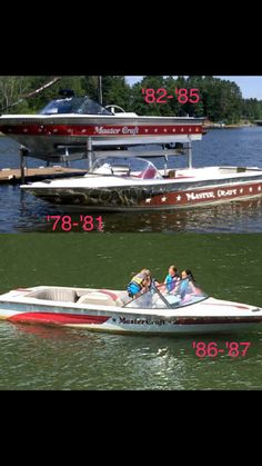 Vintage Ski, Vintage Cars, Mastercraft Ski Boats, Glass Boat, Water Ski, Cool Boats, Boat Stuff, Speed Boats, Wooden Boats